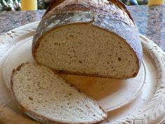 Bread recipe #2- Almost No Knead Bread- soft crust, 12 hour rise time, dense dough (vinegar and beer in the ingredients)
