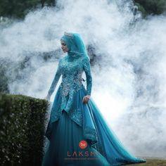 Foto gaun & busana pernikahan oleh LAKSMI - Kebaya Muslimah & Islamic Wedding Service