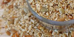 Looking for a healthy snack to get you through the afternoon or after your morning coffee wears off? This gluten free granola is perfect for any time-