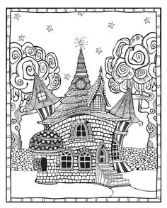 255 Best Blank Coloring Pages images in 2019 | Coloring books, Blank ...