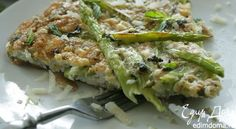 Омлет со спаржей - видеорецепт | Кулинарные рецепты от «Едим дома!»