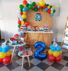 Jungle Theme Birthday, Birthday Party Themes, Boy Birthday, Hot Wheels Birthday, Balloon Decorations, Holidays And Events, First Birthdays, Instagram, Cars Birthday Parties