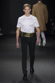 Male Fashion Trends: Calvin Klein Collection Fall/Winter 2016/17 - Milán Fashion Week