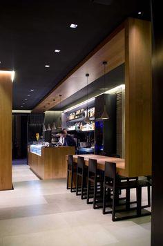 Decumanus caffè, Florence, Italy designed by Mimesi 62 Architetti Associati