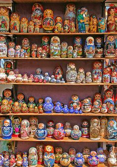 Matryoshka Dolls, St Petersburg, Russia.