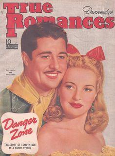 Betty Grable, Don Ameche, True Romances
