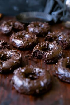 Mexican Chocolate Donuts - Broma Bakery
