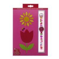 Montre pédagogique Tulipe