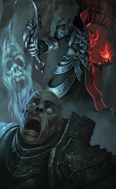 Diablo 3 reaper of souls contest by on DeviantArt Fantasy Rpg, Dark Fantasy, Crane, Dark Artwork, Angels And Demons, Jim Morrison, Video Game Art, Video Games, Grim Reaper