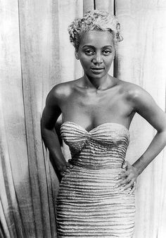 """Known as the """"Black Marilyn Monroe"""" and """"The Bronze Blond Bombshell,"""" Joyce Bryant is a singer and actress who has made an enormous impact on the entertainment world. During the late 1940s and early 1950s, she became a sex symbol with her signature skin tight mermaid dress and si"""