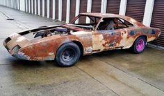 1969 Dodge NASCAR Daytona starting with its time as James Hylton's race car
