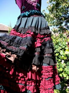 gypsy costume halloween costume steampunk by radusport on Etsy, $179.00