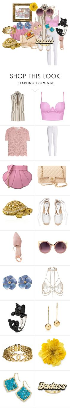 """""""HoLLyWood HipSteR !"""" by jamiepadilla on Polyvore featuring Kor@Kor, Valentino, rag & bone, Boutique Moschino, Chanel, Judith Leiber, Summit, Erdem, River Island and Buccellati"""