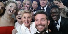 Le star di Hollywood durante la serata degli Oscar