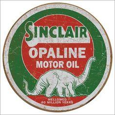 Blechschild Sinclair Opaline-DE2047