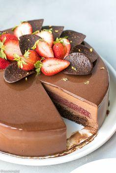 Chocolate Mirror Glaze Recipe