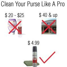 how to clean your purse like a pro. easy cleaning tips for coach purse, designer purse, DIY http://flairbybrandi.blogspot.com