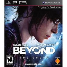 Beyond: Two Souls is an interactive drama action adventure game. It is being developed by Quantic Dream. Beyond: Two Souls console game will published by Sony Computer Entertainment. Beyond Two Souls, Ellen Page, Ps3 Games, Playstation Games, David Cage, Sony, The Last Of Us, Dvd Box, Soul Game
