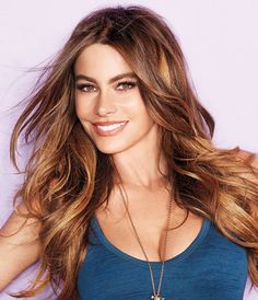 """The 5 Beauty Products Sofia Vergara Can't Live Without - """"Why not?"""" says the exuberant Modern Family star to almost everything—Botox, chia seeds, and - Sofia Vergara, Non Blondes, Beauty Must Haves, Modern Family, Beautiful Celebrities, New Hair, Hair Makeup, Classic Beauty, Hair Beauty"""