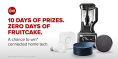Ten consecutive days of smart-home prizes for 10 lucky winners. This sweepstakes ends on December 14.