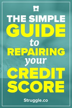 A bad credit score can ruin your life. Everybody goes through tough times, but at some point you need to fix your credit score. Here is a guide to show you the steps you can take to improve your credit score.