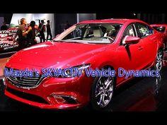 Mazda's SKYACTIV Vehicle Dynamics To Debut On 2017 Mazda6