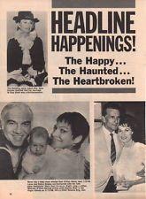 Lorne Greene Maureen O'Hara Clipping Magazine photo 1pg 8x10 orig N6648