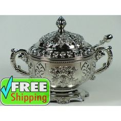 Patterned Turkish Sugar Bowl A