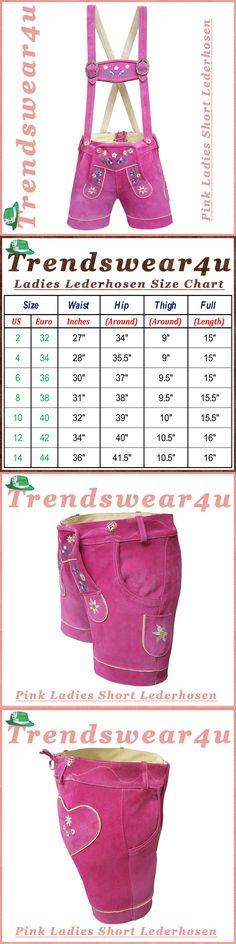 Lederhosen 163144: German Bavarian Trachtent Oktoberfest Women Short Ladies Lederhosen Outfit Tw55 -> BUY IT NOW ONLY: $33.45 on eBay!