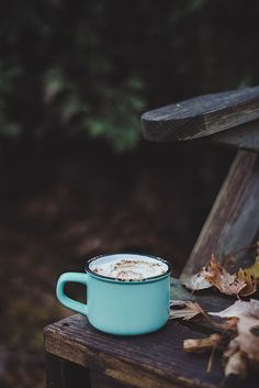 ≡ coffee on a fall morning