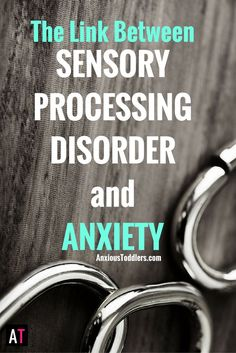 Do you know there is a link between Sensory Processing Disorder and Anxiety? It is not a coincidence that kids with SPD often have anxiety. Autism Sensory, Sensory Activities, Sensory Tools, Sensory Play, Autism Activities, Work Activities, Motor Activities, Therapy Activities, Therapy Ideas