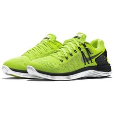 best service 73cf5 60b0f Mens Lunarclipse 5 Running Shoes GreenBlackWhite Color Size 11.5 US gt