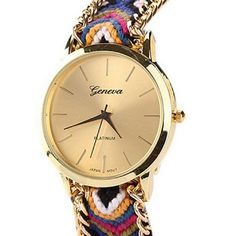 cool ® New Women Knitted Braided Weaved Rope Band Bracelet Quartz Dial Wrist Watch - For Sale Check more at http://shipperscentral.com/wp/product/new-women-knitted-braided-weaved-rope-band-bracelet-quartz-dial-wrist-watch-for-sale/