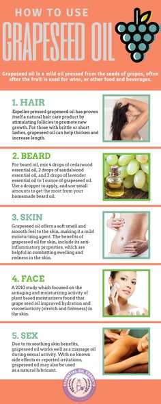 Grapeseed Oil Benefits and Uses for Hair, Skin, & Face