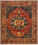 RugStudio presents Ralph Lauren Eastwood RLR7521A Norfolk Red Hand-Knotted, Best Quality Area Rug