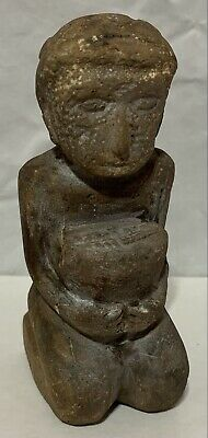 Stone Carved Human Effigy Wheat Offering Detailed Modern Art Replica Rough Edge | eBay Dolls For Sale, Effigy, Stone Carving, Modern Art, Hand Carved, Sculpture, Ebay, Stone Sculpture, Sculptures