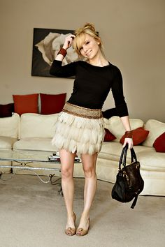 Feathered Skirt. Ugh, I die.