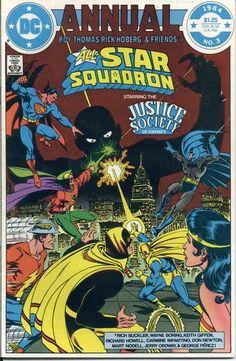 All-Star Squadron Annual 3. Roy Thomas at his DC prime.