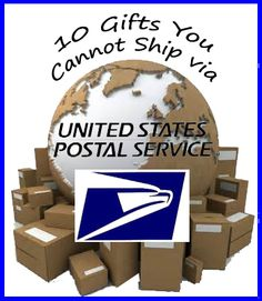 10 Gifts You Cannot Ship via United States Postal Service