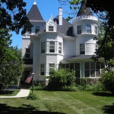 The Charles H. Patten House is a Chateauesque and Queen Anne style home located at 17 N. Benton Street in Palatine, Illinois. It was designed by Julius F. Wegman for Charles H. Patten, a prominent local businessman who was also mayor of Palatine from 1894 to 1895.