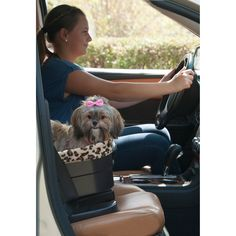Pet+Gear+Bucket+Seat+Booster+in+Chocolate+and+Sage+-+The+Pet+Gear+Bucket+Seat+Pet+Booster+allows+your+pet+to+enjoy+the+ride+without+distracting+the+driver.+This+raised+booster+seat+utilizes+your+vehicle's+seat+belt+system+to+keep+the+booster+secure. - https://www.petco.com/shop/en/petcostore/product/pet-gear-bucket-seat-booster-in-chocolate-and-sage