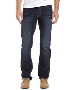 AG Adriano Goldschmied Men's The Protege Staright Leg Blue Jeans 33x34 NWT $195 #AGAdrianoGoldschmied #StraightLeg