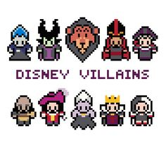 Fairytale Villains Cross Stitch Pattern PDF by XStitchMyHeart, £2.75
