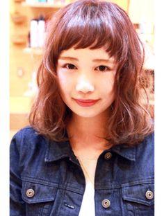 ハル hair make halu 【halu】 短い前髪がかわいい☆おしゃれミディボブ