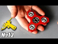 How to Make a Hand Spinner 2.0 Fidget Toy // Mr. Hot Glue #11 - YouTube