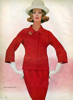 Nena von Schlebrügge / Nena Thurman Vogue Pattern Book February-March 1964