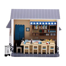 Shushi restaurant printable-complete with tiny sushis.