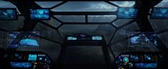 high tech science fiction spaceship bridges - Bing Images