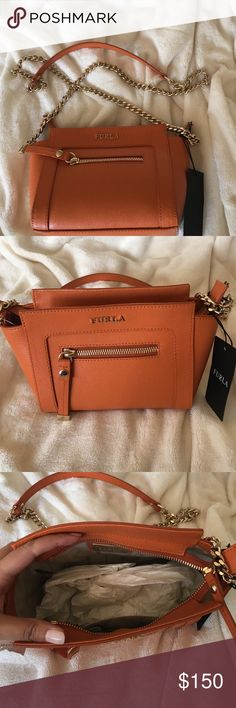 Furla crossbody bag Brand new with tag messenger bag by Furla. ❌trade Furla Bags Crossbody Bags