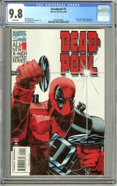Deadpool #1 (Limited Series 1994) CGC 9.8 White Pages 0281824002